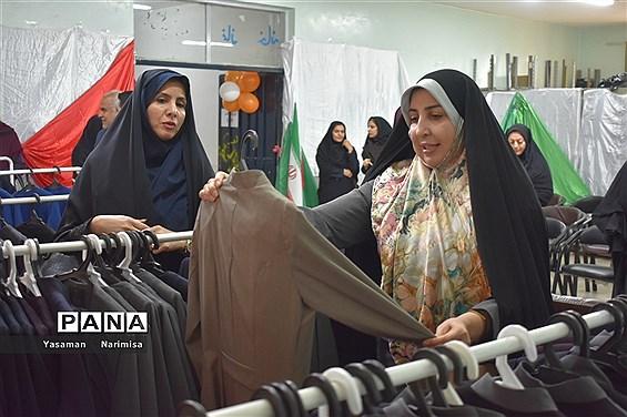 افتتاحیه نمایشگاه عفاف و حجاب( البسه اداری) در کانون شهید باهنر شهرستان امیدیه