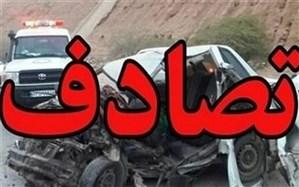 یک کشته و ۷ مصدوم در تصادف محور یزد- مهریز