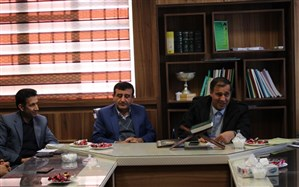 """"""" البرز پناه """" به عنوان رئیس جدید  اداره امور مالی آموزش و پرورش استان  کهگیلویه وبویراحمد  منصوب شد"""