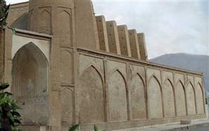مرمت دیوار مسجد جامع کبیر نی ریز