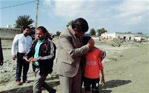 ۱۵ کلاس درس در روستاهای جاسک تخریب شده اند