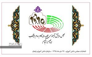 برگزاری انتخابات مجلس دانش آموزی استان زنجان