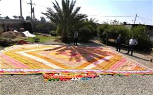 بافت نخستین گلیم 60 متری در فارس