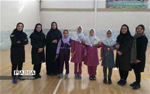 مسابقات بدمینتون دانش آموزان مدارس ابتدایی دخترانه برگزار شد