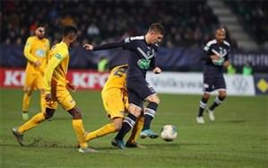 جام حذفی فرانسه؛ بوردو اسیر اولین شگفتی جام شد