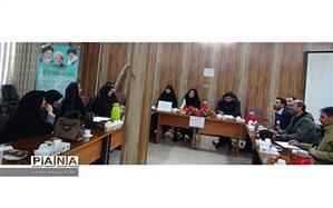 برگزاری جلسه هماهنگی برپایی نمایشگاه مدرسه انقلاب درفاروج