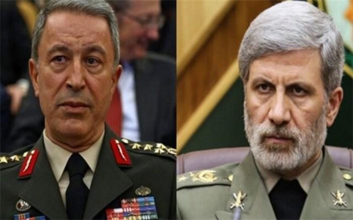 وزاری دفاع ایران و ترکیه
