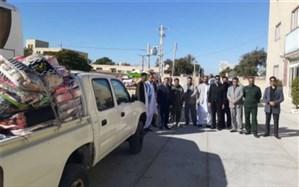 ارسال چهارمین محموله کمکهای غیرنقدی فرهنگیان سه استان به مناطق سیل زده سیستان و بلوچستان