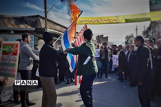 راهپیمایی در حمایت از اقتدار و صلابت نظام مقدس جمهوری اسلامی