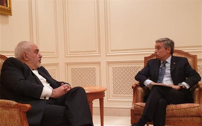 گفتوگوی ظریف و وزیر خارجه کانادا درخصوص سانحه سقوط هواپیمایی اوکراینی