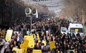 حضور دشمنشکن مردم ولایی یزد در راهپیمایی حمایت از اقتدار نظام