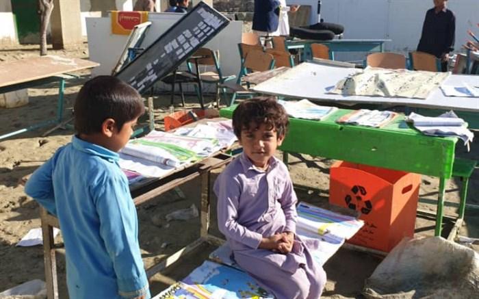 تخریب و آسیب ۳۴۲ مدرسه سیستان و بلوچستان با ۵۰ میلیارد تومان خسارت بر اثر سیل
