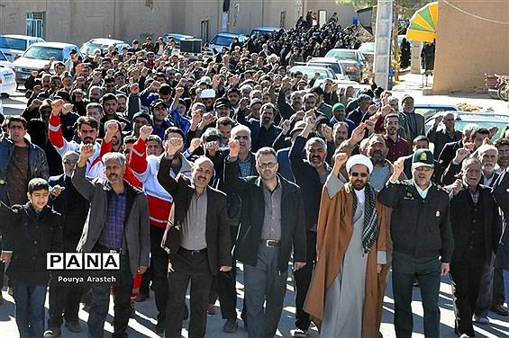 جمعه انقلاب در شهرستان خوسف خراسان جنوبی