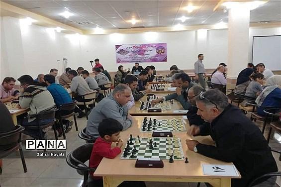 مسابقات شطرنج استان خوزستان در شهرستان امیدیه