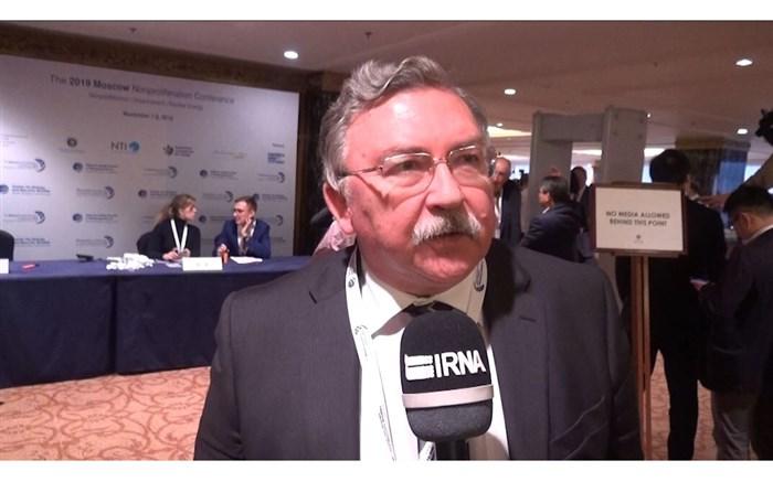 نماینده دائمی روسیه در سازمان بین المللی انرژی اتمی میخائیل اولیانوف