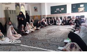 برگزاری کلاس های انتظار مهدویت دانش آموزان در منطقه 12