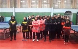 تیم های برتر مسابقات تنیس روی میز  دختر منطقه11کشوردر بوشهر مشخص شدند
