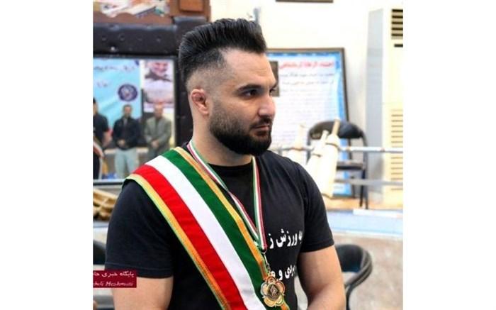 ورزشکار کرمانشاهی رکورد میل باستانی ایران را شکست