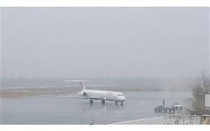 لغو همه پروازهای فرودگاه مهرآباد به علت بارش برف