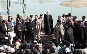 روحانی : دولت در کنار شما مردم سیلزده هست و از هیچ کمکی دریغ نخواهد کرد