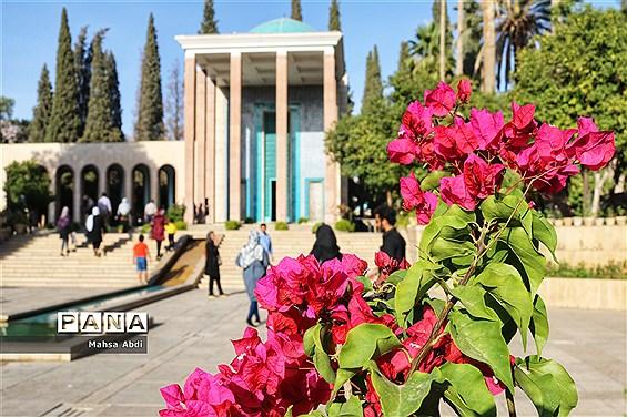 آرامگاه سلطان ملک سخن، سعدی شیرازی