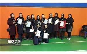 برگزاری مسابقات والیبال دختران منطقه ۱۱