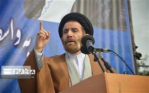 ملت ایران از اهداف متعالی انقلاب اسلامی عقب نشینی نخواهند کرد