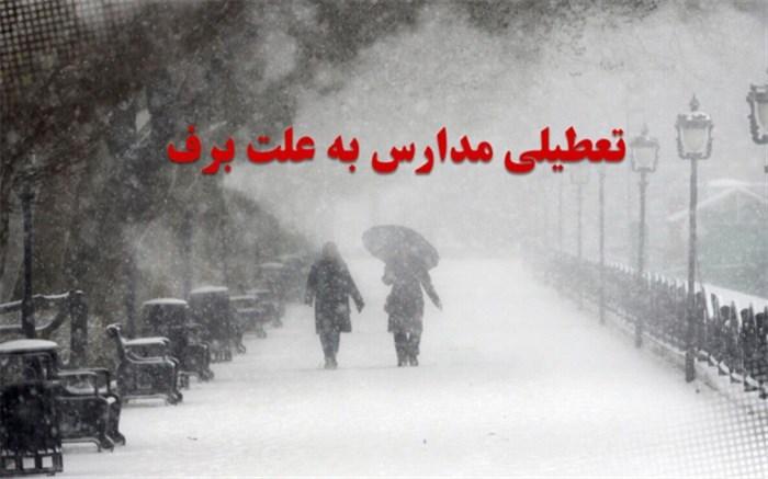 تعطیلی مدارس شهرستانهای استان تهران در نوبت عصربیست و نهم دی