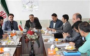 جلسه  کارشناسان ، سر گروهها وروسای مراکز مشاوره استان خراسان شمالی