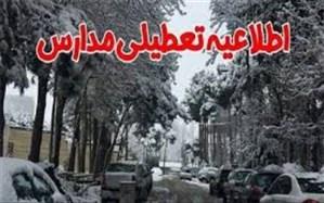 مدارس ابتدایی نوبت عصر شهرستان های استان البرز تعطیل است