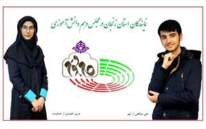 اعلام نتایج انتخابات مجلس دانش آموزی زنجان