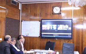 برگزاری ویدئوکنفرانس آموزش و پرورش برای کمک به دانش آموزان استان سیستان و بلوچستان