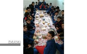 برگزاری جشنواره تغذیه سالم در دبستان حضرت قاسم (ع)