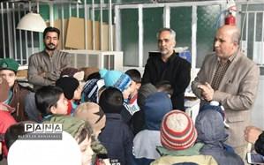 دانش آموزان دبستان علامه حلی 1 از چاپخانه امروز خراسان جنوبی بازدید کردند