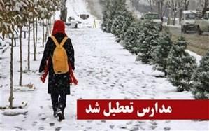 تعطیلی تعدادی ازمدارس شهرستانهای استان تهران به جهت برودت هوا و یخبندان