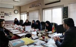 برگزاری نشست هیئت اندیشهورز فعالیت های پرورشی و فرهنگی شهرستانهای استان تهران
