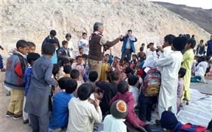 اعزام گروه های جهادی کانون پرورش فکری کودکان به مناطق سیل زده