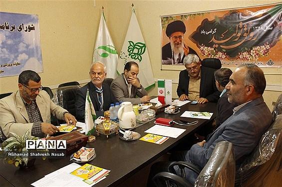 نشست شورای برنامهریزی سازمان دانش آموزی خوزستان