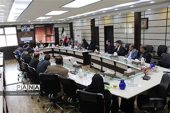 نشست کمیته فرهنگیان و دانش آموزی دهه فجر انقلاب اسلامی استان بوشهر
