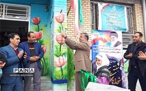 نواختن زنگ هفته شوراهای آموزش و پرورش در منطقه زبرخان