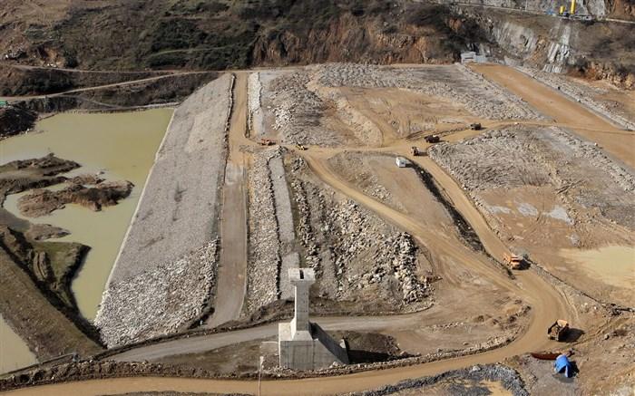 سد «پلرود » در شرق گیلان، دومین سد بزرگ مخزنی پس از سد سفید رود