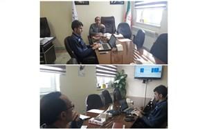 برگزاری جلسه ویدئوکنفرانس سازمان دانش آموزی استان اردبیل