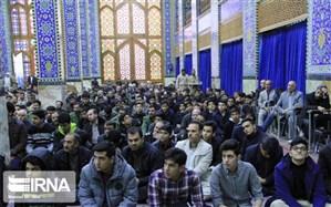آیین بزرگداشت دانشجوی شهید سانحه هوایی تهران در یزد برگزار شد