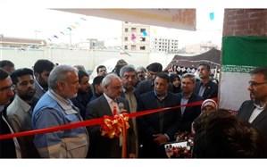 افتتاح مجتمع آموزشی شهید سلیمانی در کمب چابهار با حضور وزیر آموزش و پرورش