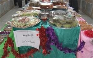 جشنواره هوای پاک ، غذای سالم در دبستان جنت الرضوان میبد