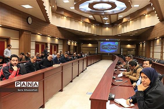 نشست مدیران روابط عمومی ادارههای شهرستان ساری در فرمانداری