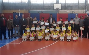 برگزاری مسابقات مینی والیبال پسران در شهرری
