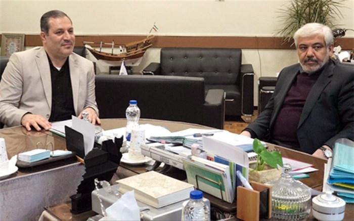 نشست صمیمانه رئیس سازمان دانشآموزی کشور و علی الهیار ترکمن