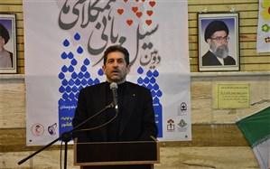 دومین سیل مهربانی همکلاسیها در استان کرمانشاه برگزار شد