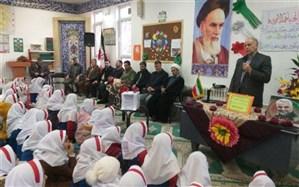 آیین سیل مهربانی همکلاسی ها در خوی برگزار شد